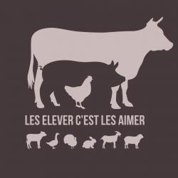 Sac bandoulière Vache