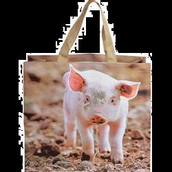 Sac à courses Cochon