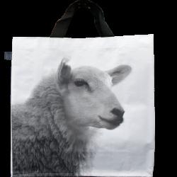 Sac à courses Mouton N&B