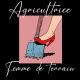 Agricultrice femme de terrain