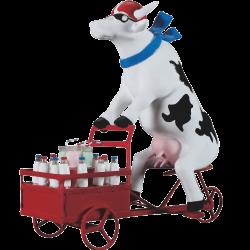 Cow parade Lait Triporteur (XL)