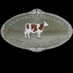 Plaque agricole Montbéliarde