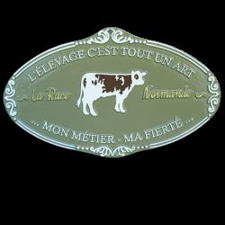 Plaque agricole Normande