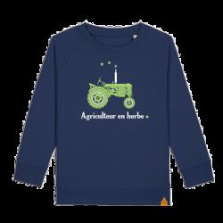 Sweat enfant Agriculteur en herbe