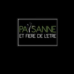 PAYSANNE FIERE DE L'ETRE - magnet frigo