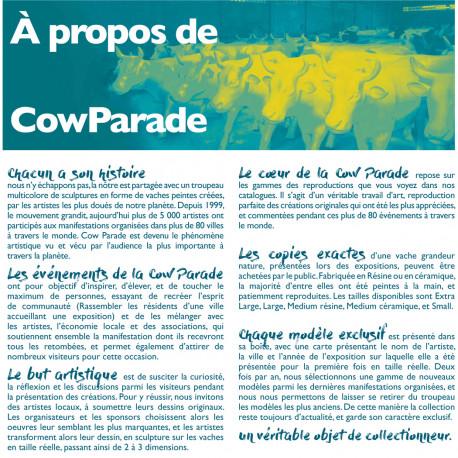 Cow Parade Picowso's school for the art