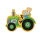 Dans mon coeur y'a un tracteur (nouveau coloris)