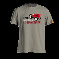 Dans mon coeur y'a un tracteur