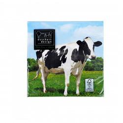 Serviettes en papier Vache