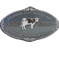 Plaque agricole Normande